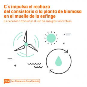 Ciudadanos impulsa la declaración institucional de rechazo a la Planta de Biomasa