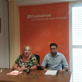 """C's anuncia que """"se plantará"""" en las juntas de distrito ante los reiterados incumplimientos del equipo de gobierno de Las Palmas de Gran Canaria"""