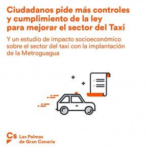Ciudadanos logra que el Ayuntamiento de Las Palmas de Gran Canaria dé luz verde a la regulación del sector del taxi