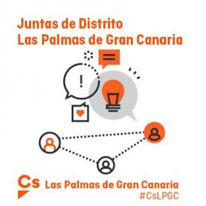 Mociones de Ciudadanos en las Juntas de Distrito de marzo (Ayuntamiento de Las Palmas de Gran Canaria)