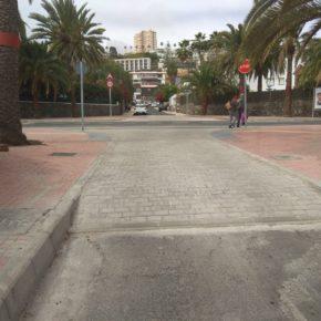 Ciudadanos denuncia que las obras de la Metroguagua en el tramo de la calle Pío XII suponen un grave peligro