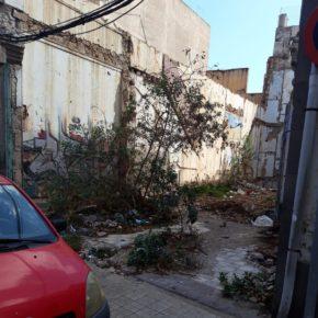 Ciudadanos propone que se desarrolle un plan de recuperación para dar uso a los solares abandonados de la capital